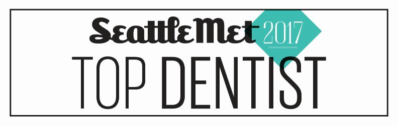 Seattle Met Top Dentist Badge 2017