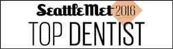 Seattle Met Top Dentist Badge 2016
