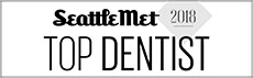Seattle Met Top Dentist Badge 2018