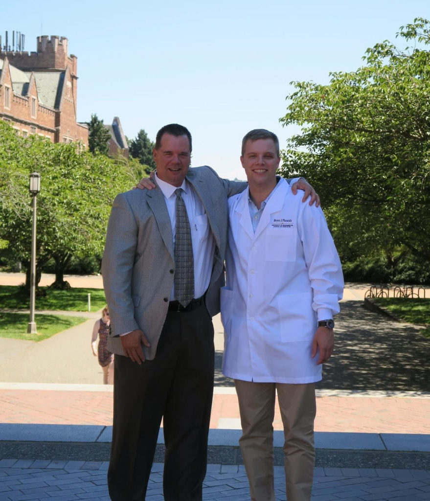 Dr. Gregory Plancich and Bryce Plancich